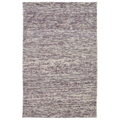 Chianna Handmade Purple Area Rug Rug Size: Rectangle 5 x 76