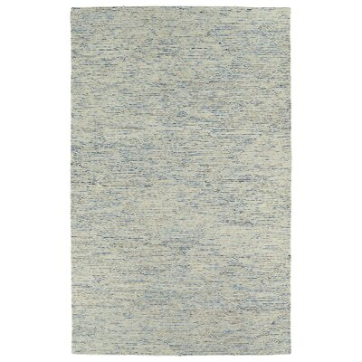 Cilegon Handmade Blue Area Rug Rug Size: Rectangle 36 x 56