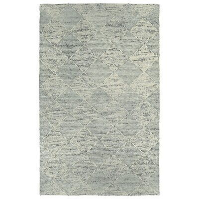Cilegon Handmade Gray Area Rug Rug Size: Rectangle 8 x 10