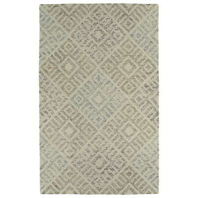 Cilegon Handmade Beige Area Rug Rug Size: Rectangle 2 x 3