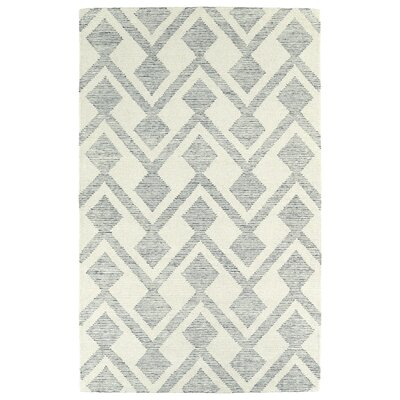 Cilegon Handmade Ivory Area Rug Rug Size: Rectangle 5 x 79