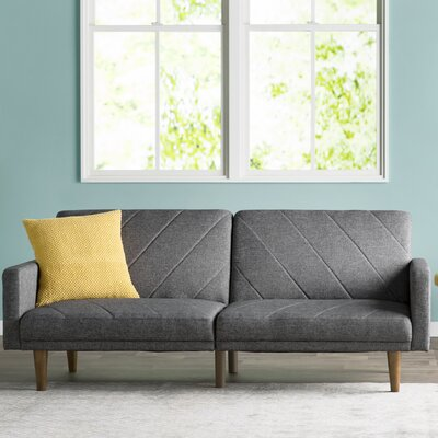 Ferris Sleeper Sofa Upholstery: Grey