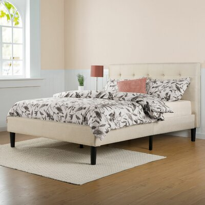 Leonard Upholstered Platform Bed Size: King