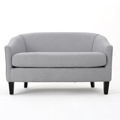 Elmore Loveseat Upholstery: Fabric - Light Gray