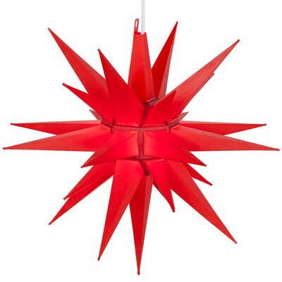 LED Moravian Star Color: Red
