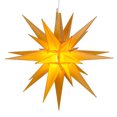 LED Moravian Star Color: Gold