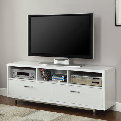 Oldsmar 60 TV Stand Color: White