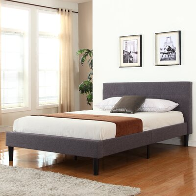Mirella Upholstered Platform Bed Size: Full
