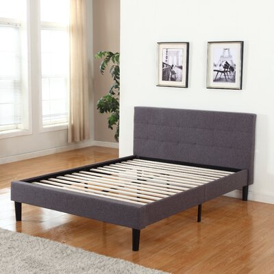 Mirella Upholstered Platform Bed Size: Queen