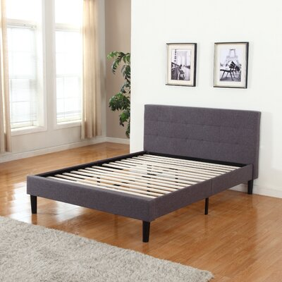 Mirella Upholstered Platform Bed Size: King