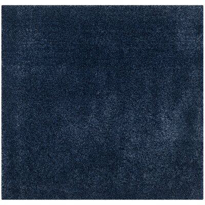 Navy Area Rug Rug Size: Square 4