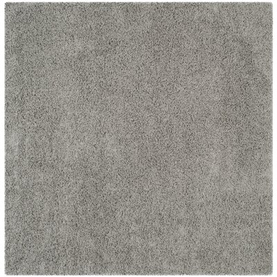 West Broadway Light Grey Area Rug Rug Size: Square 67 x 67