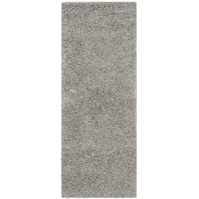 Wilder Light Grey Area Rug Rug Size: Runner 23 x 10