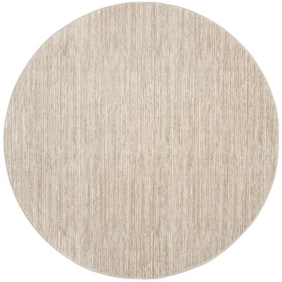 Harloe Ivory/Cream Area Rug Rug Size: Rectangle 51 x 76
