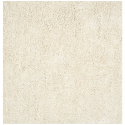 Holliday Ivory Area Rug Rug Size: Square 9