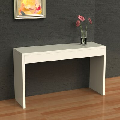 Fells Console Table Finish: White