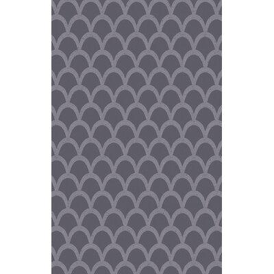 Villegas Gray Area Rug Rug Size: 5 x 8