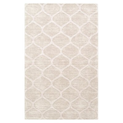 Villegas Winter White Area Rug Rug Size: 2 x 3
