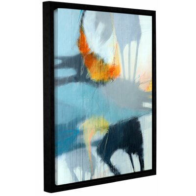 'Shadows' Framed Graphic Art Print on Canvas Size: 10