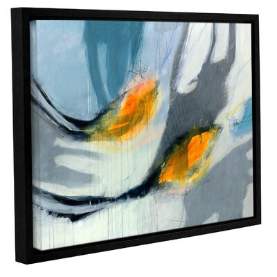 'Avalanche' Framed Painting Print on Canvas Size: 14