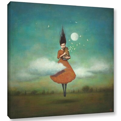 'High Notes for Low Clouds' Graphic Art Print on Wrapped Canvas Size: 10