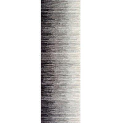 Colunga Black Area Rug Rug Size: Runner 28 x 8