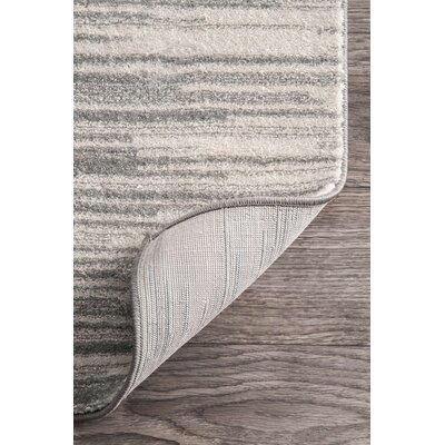 Sidwell Black Area Rug Rug Size: 4 x 6
