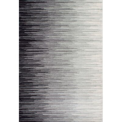 Sidwell Black Area Rug Rug Size: 8 x 10