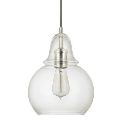 Conard 1-Light Mini Pendant Finish: Polished Nickel