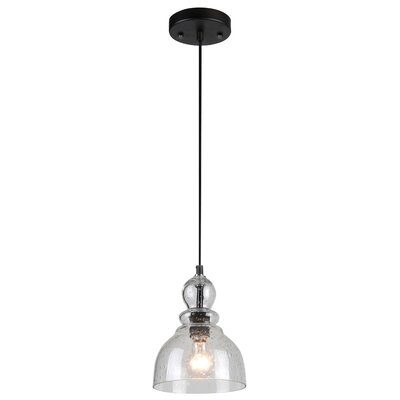 Kaitlynn 1-Light Mini Pendant Finish: Oil Rubbed Bronze