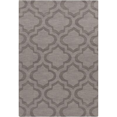 Castro Hand Woven Wool Charcoal Area Rug Rug Size: Rectangle 8 x 10