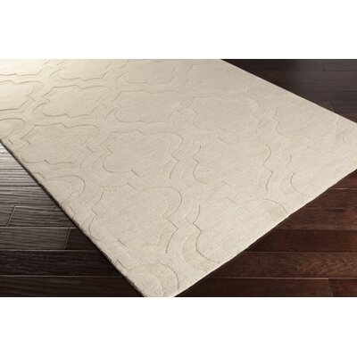 Castro Beige Area Rug Rug Size: Rectangle 5 x 76