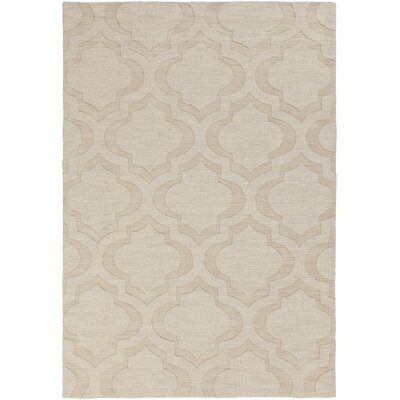 Castro Beige Area Rug Rug Size: Rectangle 4 x 6