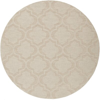 Castro Beige Area Rug Rug Size: 4 x 6