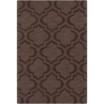 Castro Brown Geometric Kate Area Rug Rug Size: 4 x 6