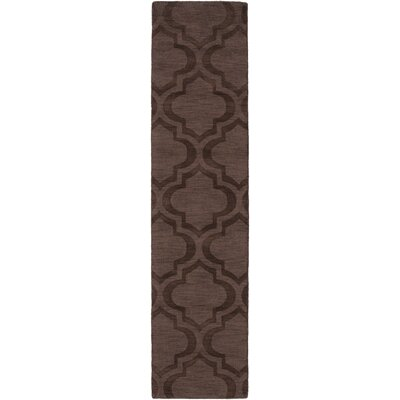 Castro Brown Geometric Kate Area Rug Rug Size: Runner 23 x 8