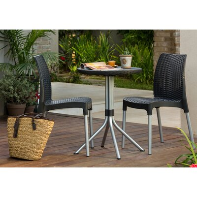 Catlin 3 Piece Resin Bistro Set