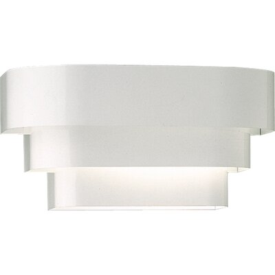 Catt Tri Band Louver with No Ballast 1-Light Flush Mount Finish: White