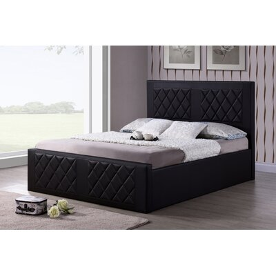 Caudell Upholstered Platform Bed Size: Full, Upholstery: Brown