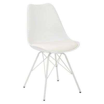 Caudle Guest Chair Color: White