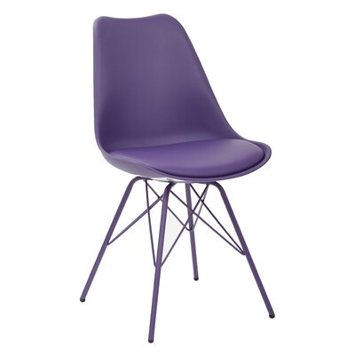 Christofor Guest Chair Color: Purple