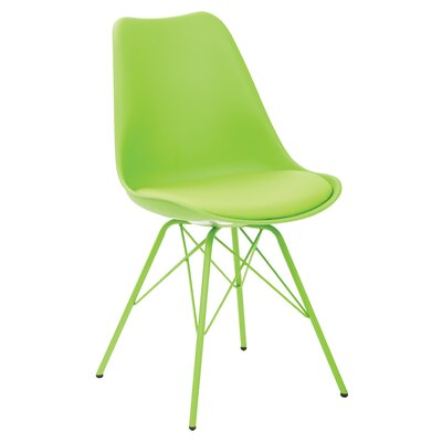 Christofor Guest Chair Color: Green