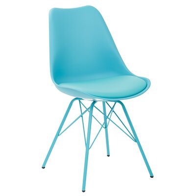 Christofor Guest Chair Color: Teal