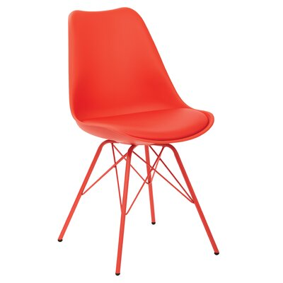Christofor Guest Chair Color: Red