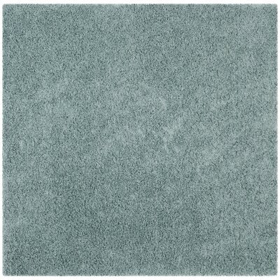 West Broadway Seafoam Area Rug Rug Size: Square 67 x 67