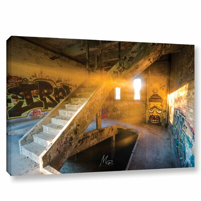 'Abandoned Light of Hope' Photographic Print on Canvas Size: 12
