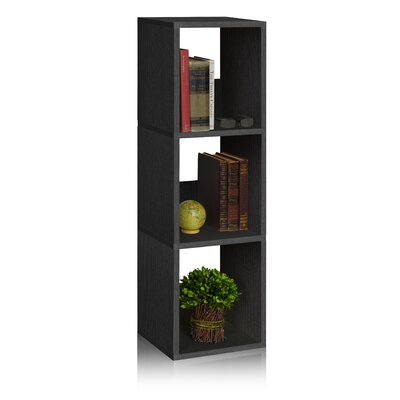 "Andrade Trio Eco 3-Shelf Narrow 45"" Cube Unit Bookcase"