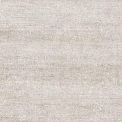 Flanigan Hand Woven Gray Area Rug Rug Size: Square 16