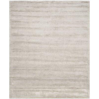 Flanigan Silver/Grey Rug Rug Size: 8 x 10