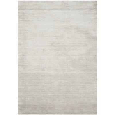 Flanigan Silver/Grey Rug Rug Size: 6 x 9